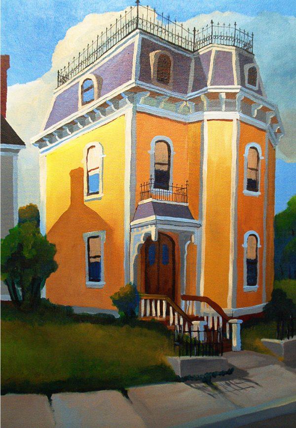 gold-house-by-robert-waldo-brunelle-jr